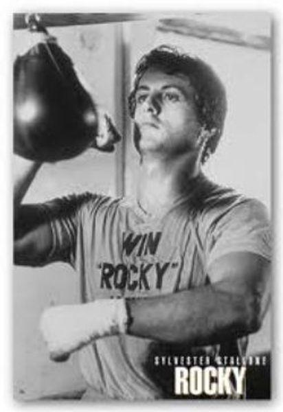 Sylvester Stallone Win Rocky Movie Poster Amoeba Music