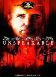 Unspeakable (DVD)