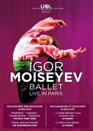 Igor Moiseyev Ballet Live in Paris (DVD)