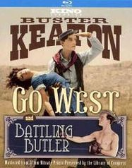 Go West [1925]/ Battling Butler (BLU)