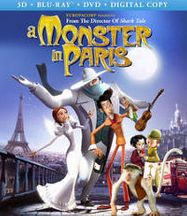 A Monster In Paris 3D (BLU)