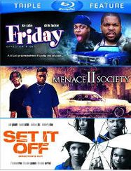 Friday / Menace II Society / Set It Off [Triple Feature] (BLU)