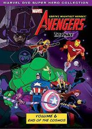 Marvel The Avengers: Earth's Mightiest Heroes! Volume 6 (DVD)