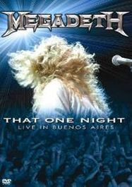Megadeth: That One Night - Live in Buenos Aires (DVD)