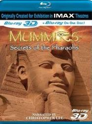 Mummies: Secrets Of The Pharaohs 3D (BLU)