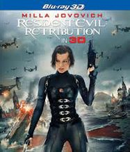 Resident Evil: Retribution 3D (BLU)