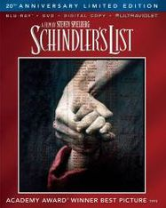 Schindler's List (20th Anniversary Limited Edition) (BLU)