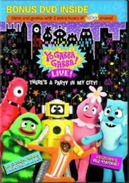 Yo Gabba Gabba! Live!: There's a Party in My City! (DVD)