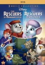 The Rescuers & The Rescuers Down Under (DVD)