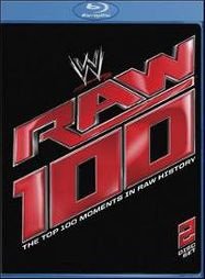WWE: Raw 100 - The Top 100 Moments in Raw History (BLU)