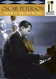 Jazz Icons: Oscar Peterson Live In '63, '64, & '65 (DVD)