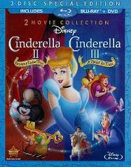 Cinderella II: Dreams Come True / Cinderella III: A Twist In Time (BLU)