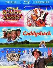 Blazing Saddles / Caddyshack / National Lampoon's European Vacation (BLU)