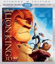 The Lion King 3D (BLU)