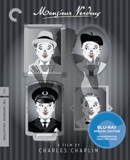 Monsieur Verdoux [1947] [Criterion] (BLU)