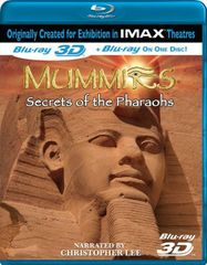IMAX: Mummies - Secrets of the Pharaohs 3D (BLU)