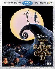 The Nightmare Before Christmas 3D (BLU)