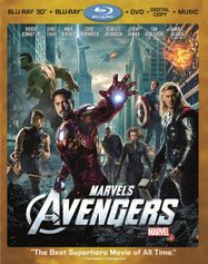 Marvel's The Avengers 3D [2012] (BLU)