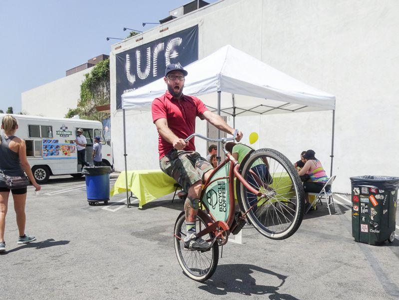 Bike Day at Amoeba