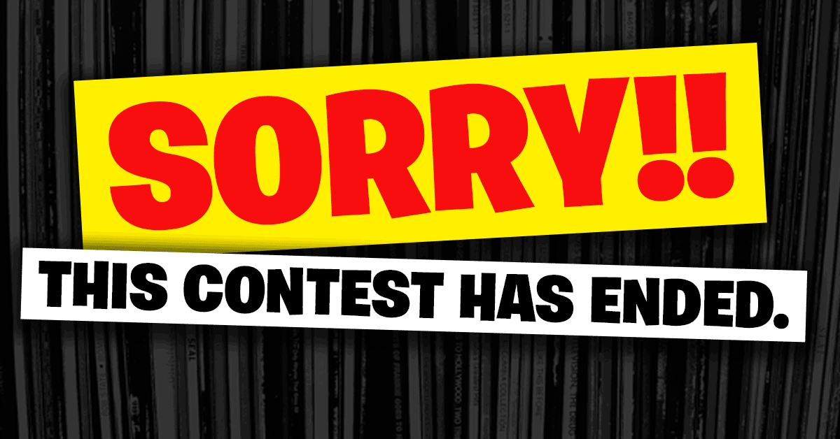 Sorry, This Contest Has Ended.