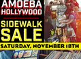 Sidewalk Sale at Amoeba Hollywood on Saturday, November 18th