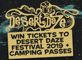 Win Tickets to Desert Daze Festival 2019 + Camping Passes