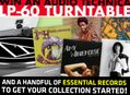 Win An Audio Technica LP-60 & Essential Records!