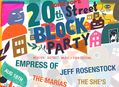 20th Street Block Party in SF