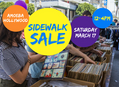 Sidewalk Sale at Amoeba Hollywood Saturday, March 17