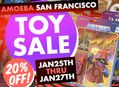 Toy Sale at Amoeba SF