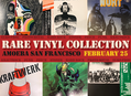Unique LP Collection Arrives at Amoeba SF 2/25