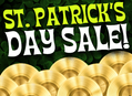 St. Patrick's Day Sale Friday, 3/17