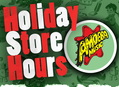 2019 Holiday Store Hours