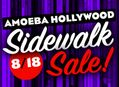 Sidewalk Sale at Amoeba Hollywood Saturday, August 18th