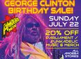 20% Off Parliament & Funkadelic Items at Our Stores July 22