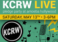 KCRW Live Pledge Party at Amoeba Hollywood