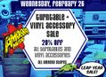20% Off Turntables & Vinyl Accessories at Our Stores February 26