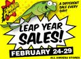 Leap Year Sales Feb 24-29