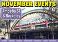November Events in the Bay Area