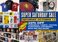 Super Saturday Sale October 12