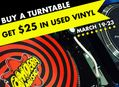 Spring Turntable Promo at Our Stores March 19-23