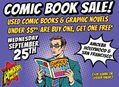 BOGO Sale on Used Comics and Graphic Novels in Hollywood & SF