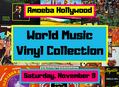 Rare World Music Vinyl Collection Arrives at Amoeba Hollywood Saturday, November 9