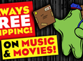 Always Free Shipping On Music and Movies