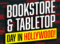 Celebrate Bookstore Day & Tabletop Day at Amoeba Hollywood Saturday, April 29