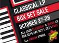 Used Classical & Opera LP Box Set Sale at Our Stores October 27-28