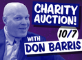 Hurricane Relief Charity Auction with Don Barris at Amoeba Hollywood 10/7