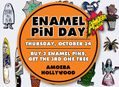 Enamel Pin Day at Amoeba Hollywood Thursday, October 24
