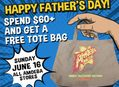 Spend $60 at Amoeba Stores on June 16th and Get a Free Tote Bag