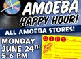 Happy Hour Gift Certificate Sale at Our Stores on June 24
